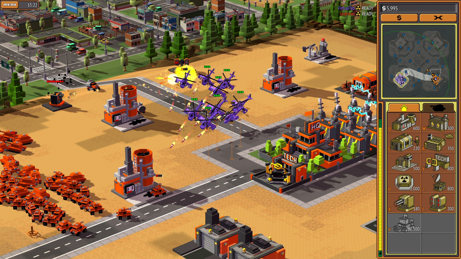 8-Bit Armies (Game Screenshot)