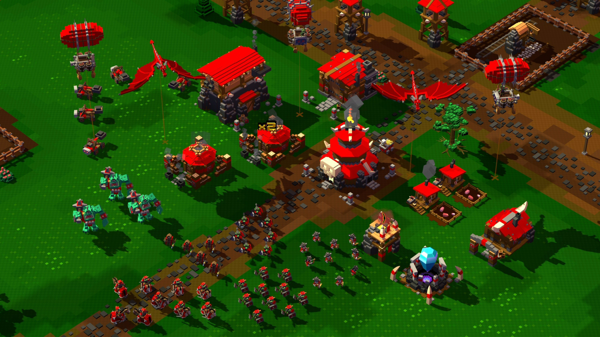 8-Bit Hordes (Game Screenshot)